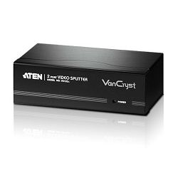 ATEN VS132A, 2 PORT VIDEO SPLITTER W/230V ADP