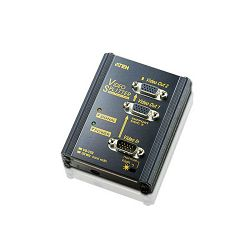 ATEN VS102, 2 PORT VIDEO SPLITTER W/230V