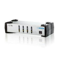 ATEN VS461, 4 PORT DVI VIDEO SWITCH W/23