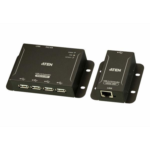 4-Port USB 2.0 CAT 5 Extender (do 50m)