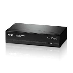 ATEN VS134A, 4 PORT VIDEO SPLITTER W/230V ADP
