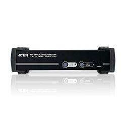 ATEN VS1504T, 4 PORT CAT5 AUDIO/VIDEO SPLITTER W/230V
