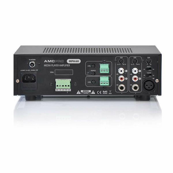 AMC MPA60 ojačevalnik s predvajalnikom in mikserjem