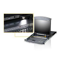 Aten KL1516A, 16-Port Cat 5 High-Density Dual Rail LCD KVM Switch