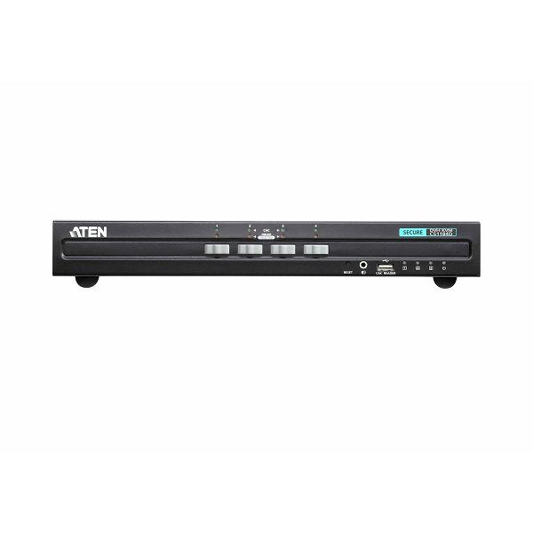 Aten CS1184D, 4-portno varno stikalo KVM za USB DVI (združljivo s PSS PP v3.0)