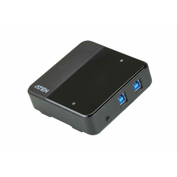 Aten US3324, periferno stikalo za skupno rabo 2 x 4 USB 3.2 Gen1