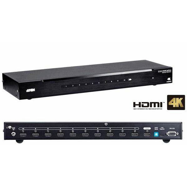 ATEN VS0110HA, 10 PORT 4K HDMI SPLITTER