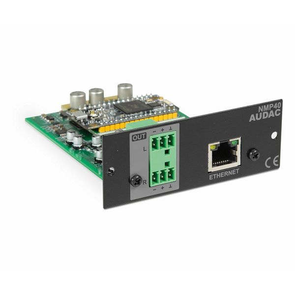 AUDAC NMP40 -  AUDIO STREAMING MODUL SOURCECON