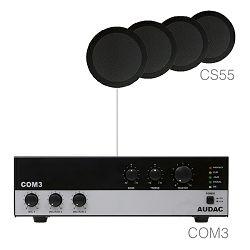 Audio sistem Audac Agro 5.4 (Ojačevalec COM3, Zvočniki CS55)