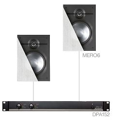 Audio sistem Audac Cerra 6.2 (Ojačevalec DPA120, Zvočniki MERO6)