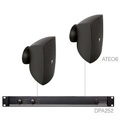 AUDAC Festa 6.2 - Audio sistem (Ojačevalec DPA252, Zvočniki ATEO6)