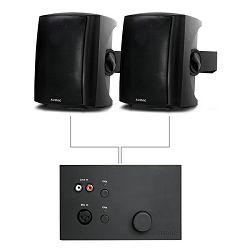 Audio sistem Audac LW523 (Mešalna miza WP523, zvočnik LX523)