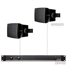 Audio sistem Audac Purra 5.2 (Ojačevalec DPA152, Zvočniki WX502/O)