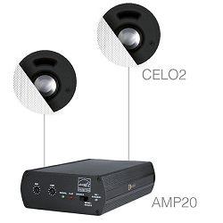 Audio sistem Audac Senso 2.2 (Ojačevalec AMP20, zvočniki CELO2)