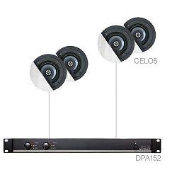 AUDAC Senso 5.4 - Audio sistem (Ojačevalec EPA152, zvočniki CELO5)