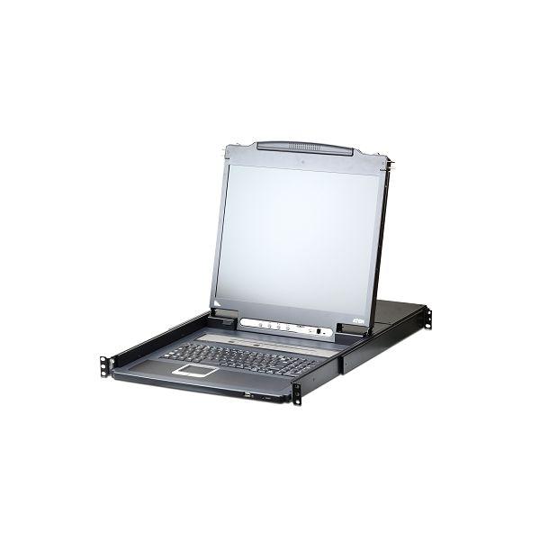 Konzola Aten CL5708IM LCD KVM over IP Switch 17'', Display-Chain, USB, VGA