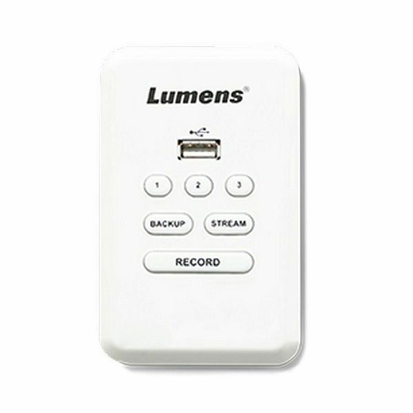 LUMENS LC-RC01, kontrolna plošča za snemalnik LUMENS LC200