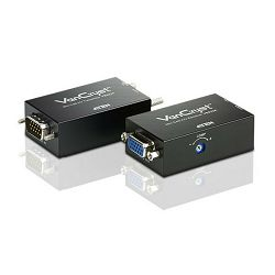 Mini VGA/Audio Cat 5 Extender (1280 x 1024@150m)