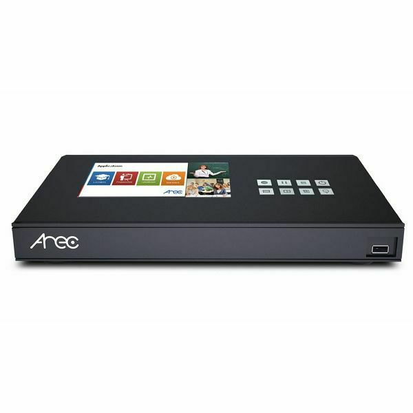 Naprava za snemanje in distribucijo predavanj in sastanakov AREC KL-3W, 3 kanali, 2 streama, Wi-Fi