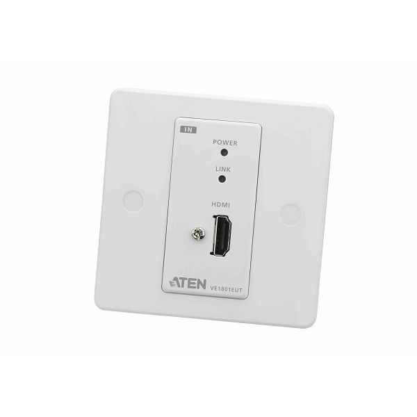 Oddajnik HDMI HDBaseT-Lite z EU stensko ploščo (4K @ 40 m) (HDBaseT razred B)