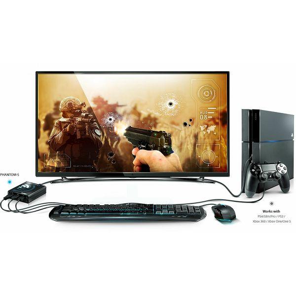 PHANTOM-S (Gamepad Emulator for PS4 / PS3/ Xbox 360/ Xbox One)
