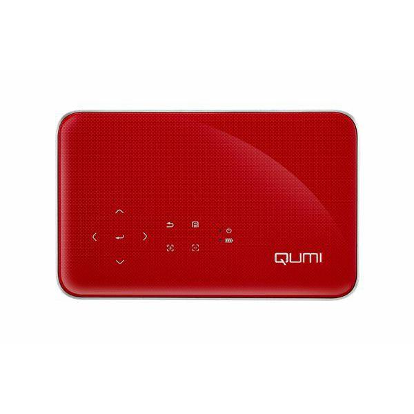 Prenosni projektor Qumi Q38 plus, vgrajena baterija, LED, 600 ANSI lumnov, Full HD (1920x1080)