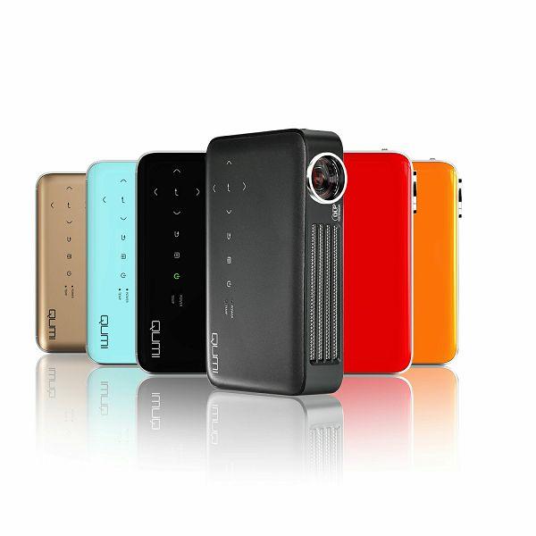 Prenosni projektor Vivitek Qumi Q6, LED tehnologija, ločljivost WXGA (1280x800), 800 ANSI lumnov, kontrast 30000:1