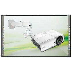 Širokokotni projektor Vivitek DX563ST + Nosilec + interaktivna tabla Hitachi Starboard FX79E1 (vgradnja in izobraževanje)