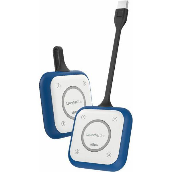 Vivitek LaucherPlusOne, komplet 2x LaucherOne z Wi-Fi z zaščito