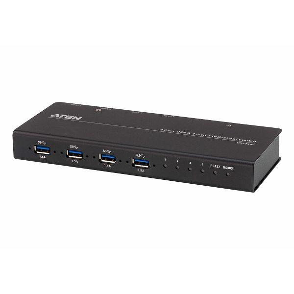 Aten US3344I, 4 x 4 USB 3.2 Gen 1 industrijsko periferno stikalo