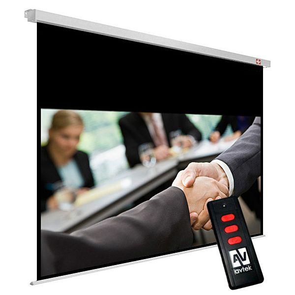 Stensko električno platno Avtek Business Electric 300, 300x227.5 cm, format 16:10